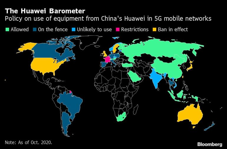 Huawei reportedly hoarded 5G chips before Trump sanctions