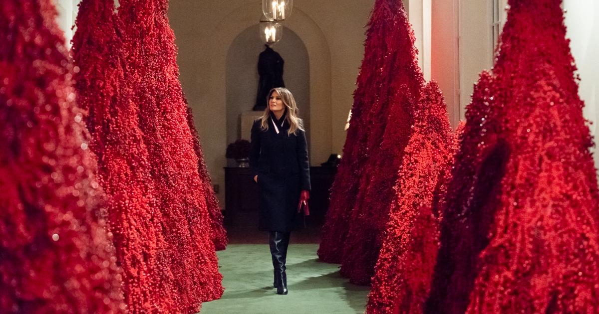 Trump Christmas 2020 Photos Melania Trump secret recordings: 'I'm driving the liberals crazy