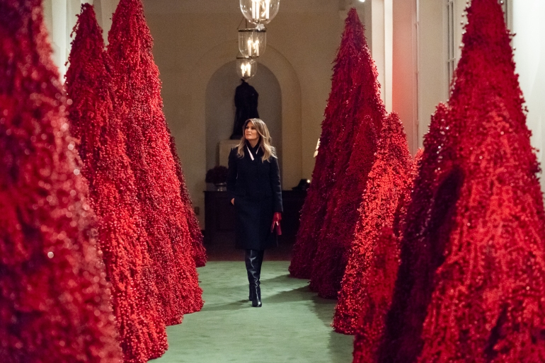 Trump Christmas Decorations 2020 Melania Trump secret recordings: 'I'm driving the liberals crazy