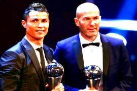 Cristiano Ronaldo world's best male footballer for fifth time