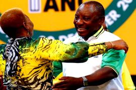 South Africans hope new ANC leader will bring real change