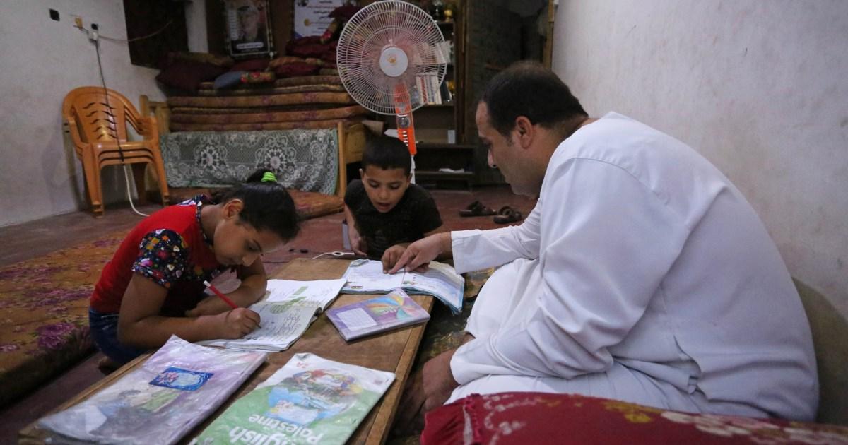 Gaza children struggle with studies during COVID-19 lockdown