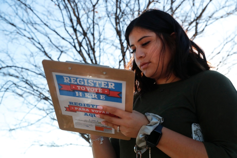 US: Republicans see bright spot in 2020 voter registration push