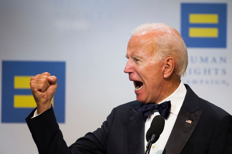 Joe Biden's long political career features several policy shifts