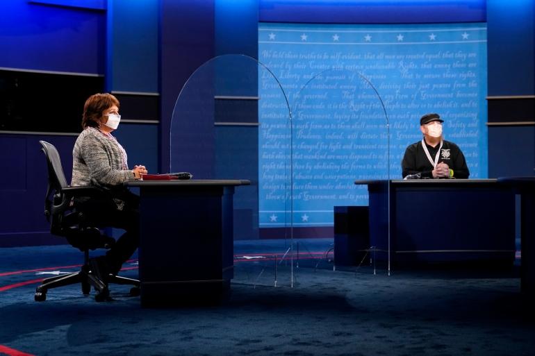 Harris and Pence debate taxes, China and environment: Live news | US & Canada