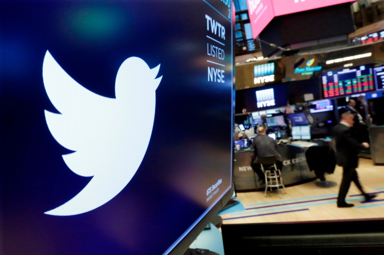 Twitter is imposing new rules ahead of the US presidential election, banning people, including candidates, from claiming an election win before it is called by officials or two authoritative, national news outlets [File: Richard Drew/AP Photo]