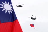China believes that Taiwan's democratically-elected government is moving the island towards a declaration of formal independence [Chiang Ying-ying/AP Photo]