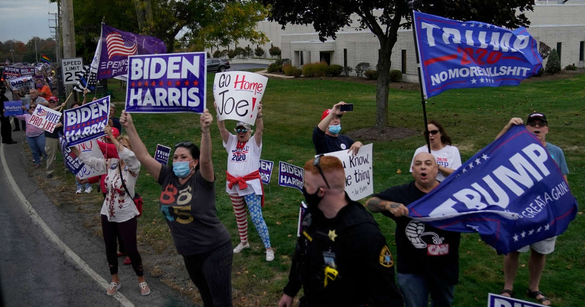 Pennsylvania is crucial to victory for both Trump and Biden thumbnail