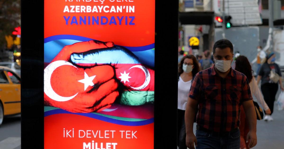 Turkey Denies Sending Syrian Fighters Nagorno Karabakh Live News Nagorno Karabakh Al Jazeera
