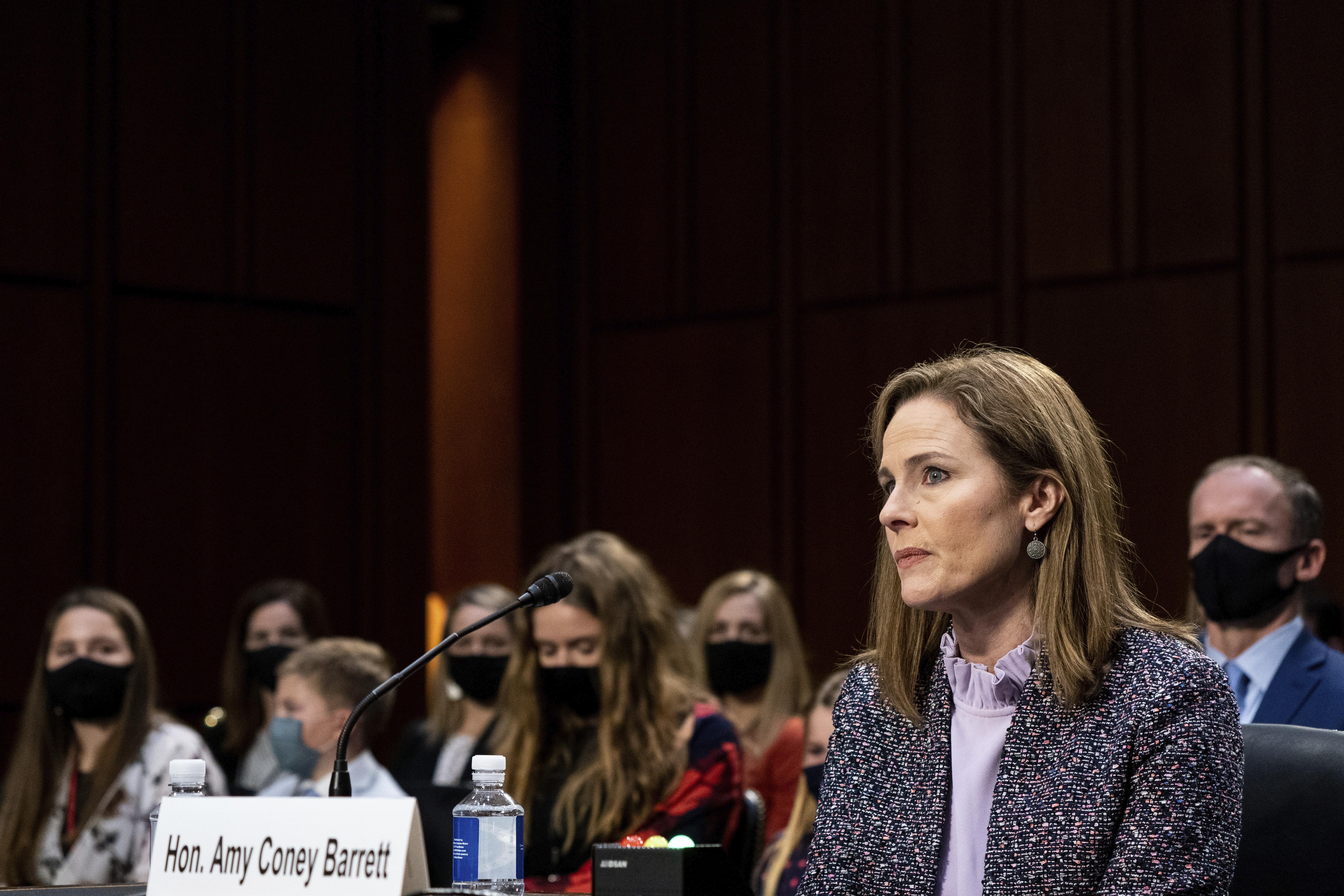 Senate panel advances Barrett Supreme Court nomination; Democrats boycott vote