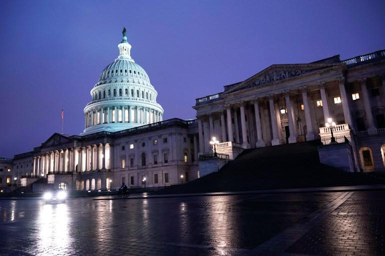 Senate set to confirm Amy Coney Barrett: US election live news