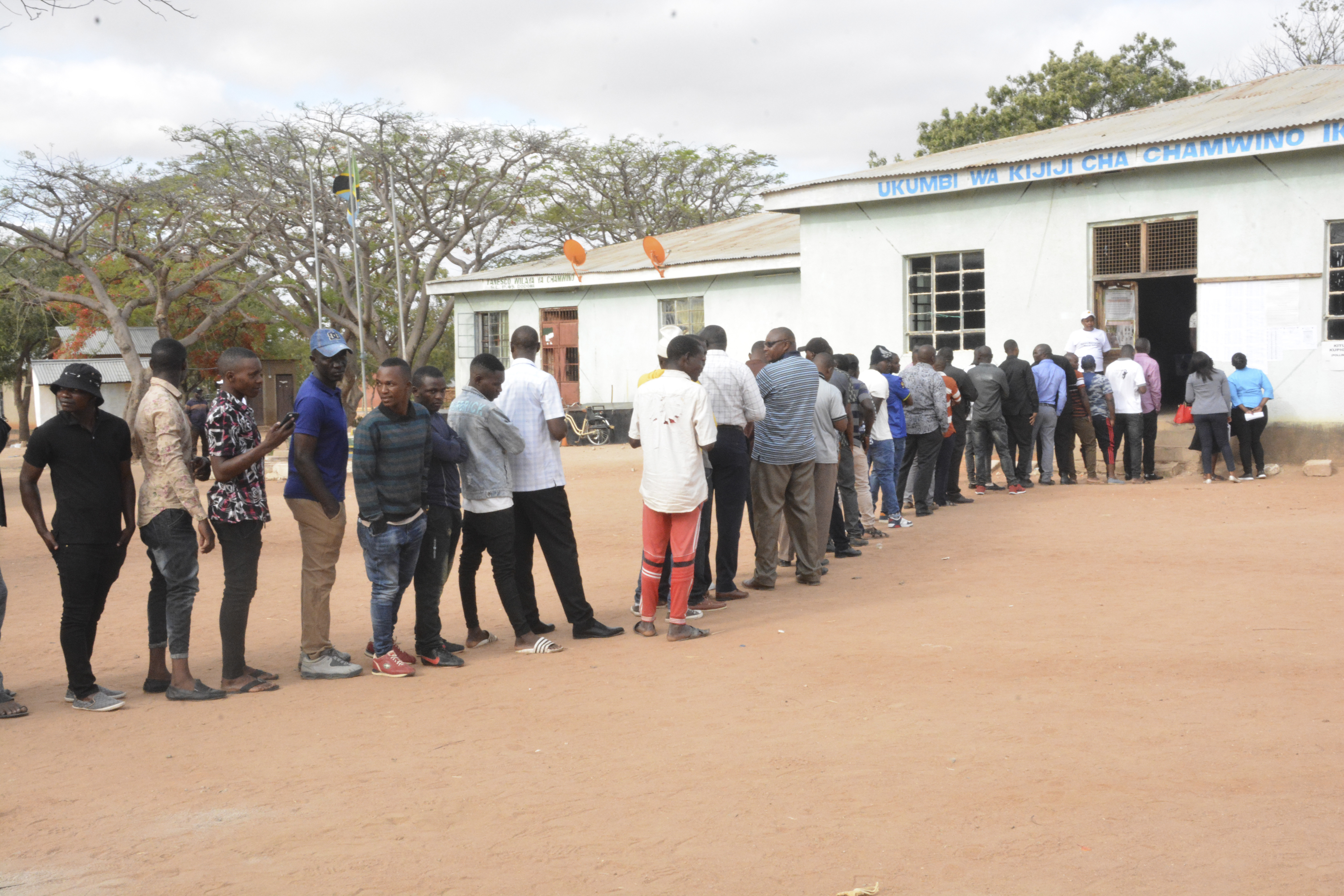 Tanzanians Vote In Elections Full Of Irregularities