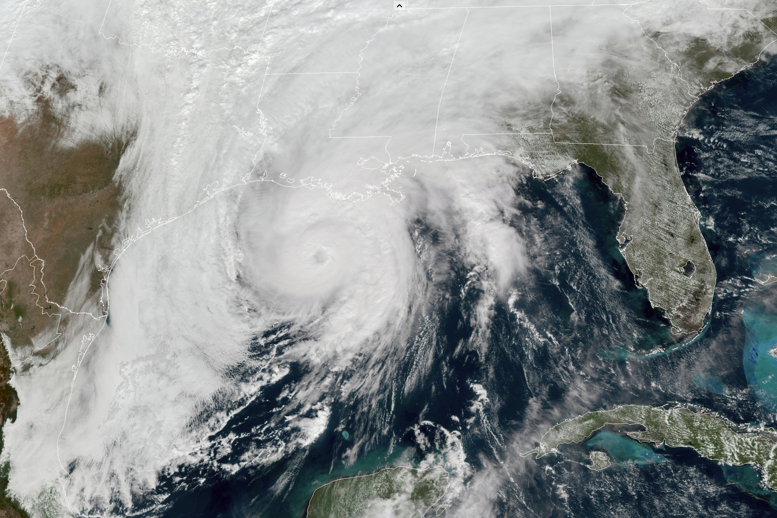 Zeta strengthens to a category two hurricane. Landfall is just hours away
