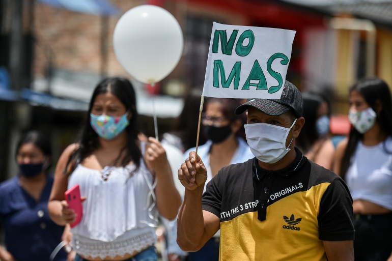 Amnesty Killing Of Colombia Activists Result Of Failed Policies Human Rights News Al Jazeera