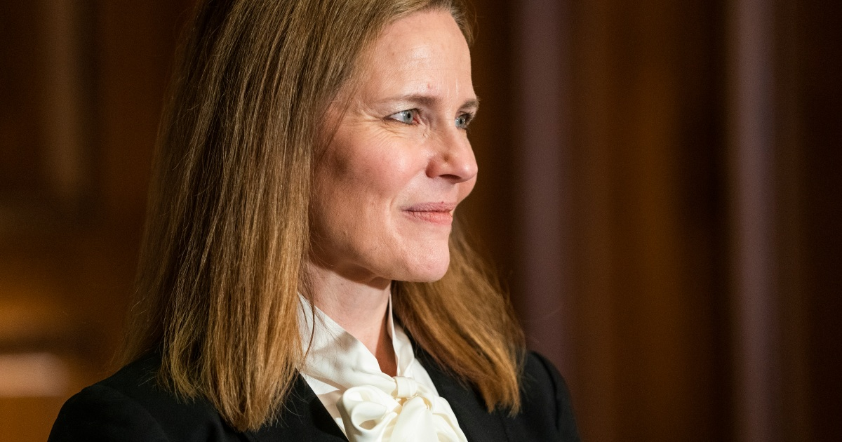 Supreme Court pick vows to judge cases on law, not personal views thumbnail