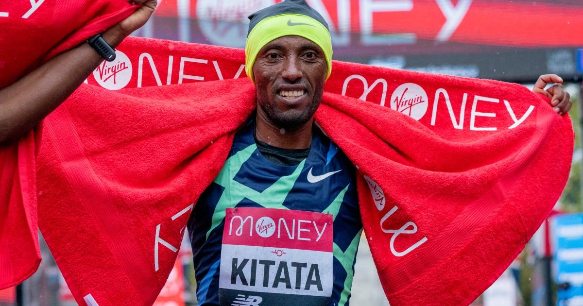 Ethiopia's Shura Kitata sprints to London Marathon win thumbnail