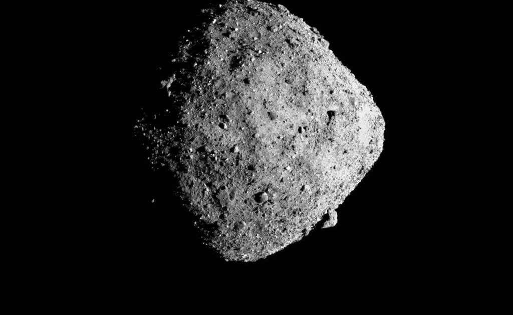 NASA's OSIRIS-REx poised to reach out and touch an asteroid thumbnail