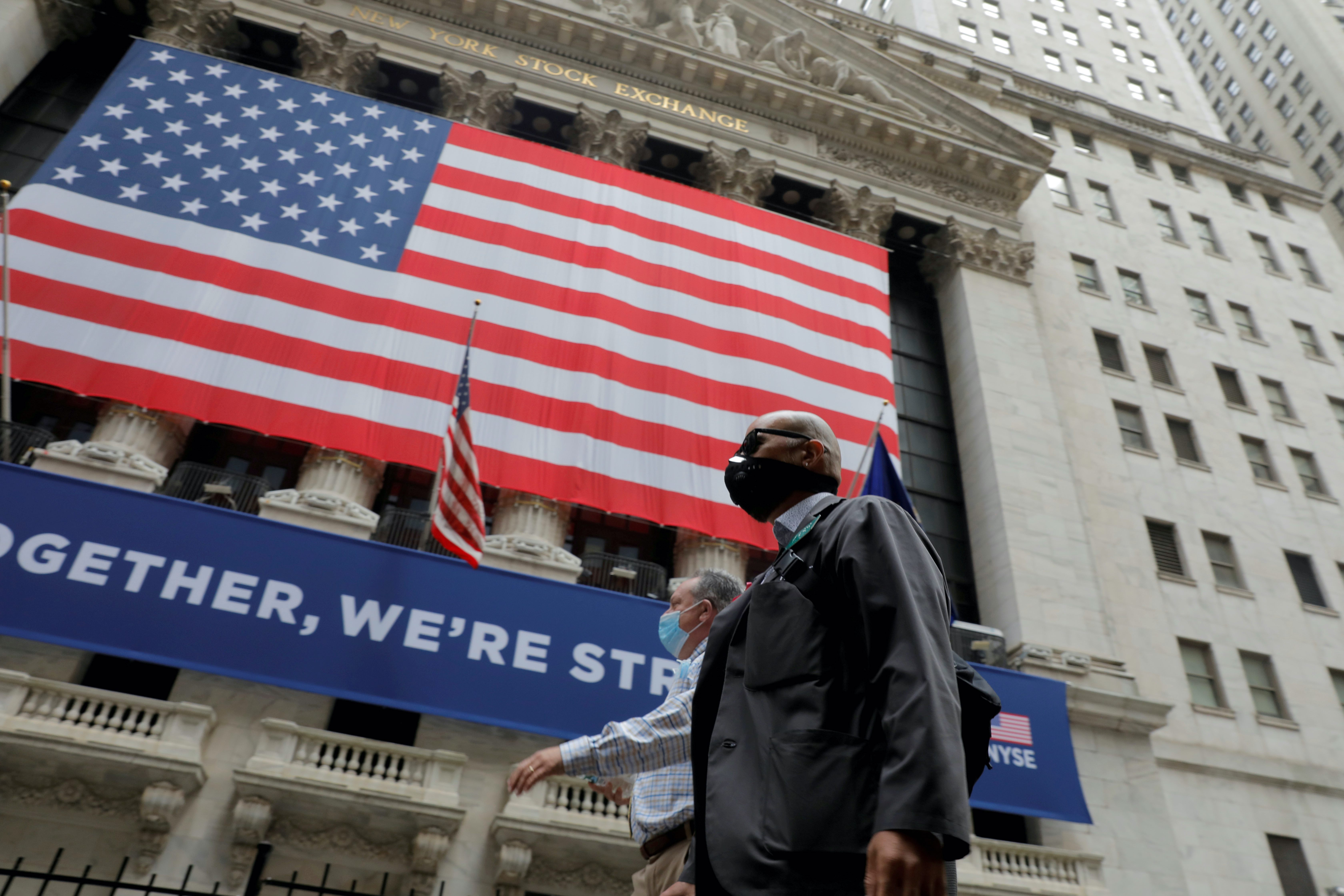 Uncertainty reigns on Wall Street as United States officials struggle to pass another round of stimulus measures