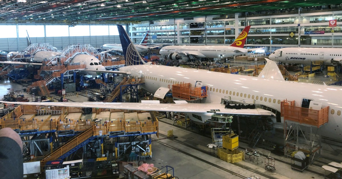 Takeoff: Boeing to move 787 production to South Carolina in 2021 thumbnail