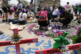 More than 200 women were killed in Guatemala in the first eight months of this year. [Sandra Cuffe/Al Jazeera]