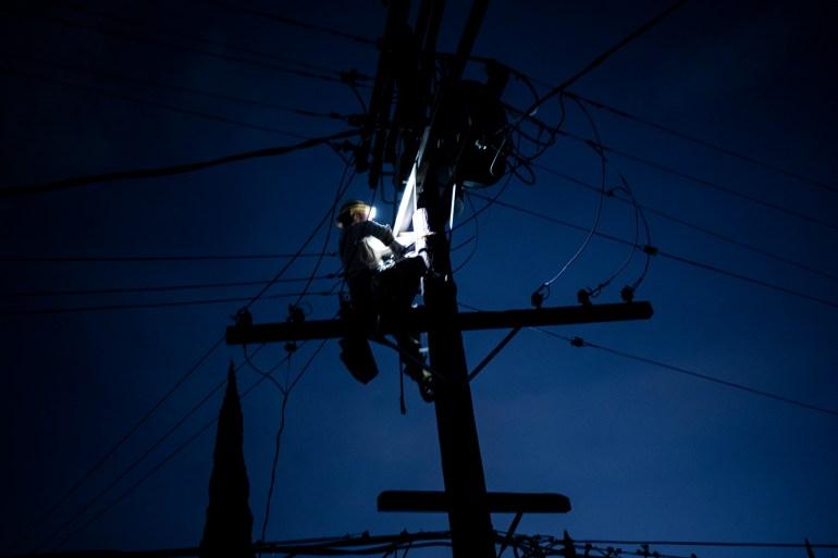 California heatwave prompts power shutdowns, fire danger