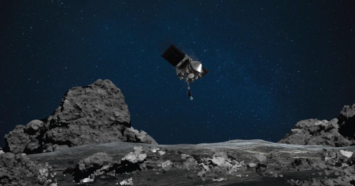 NASA examines asteroid samples leaked due to jammed door |  News