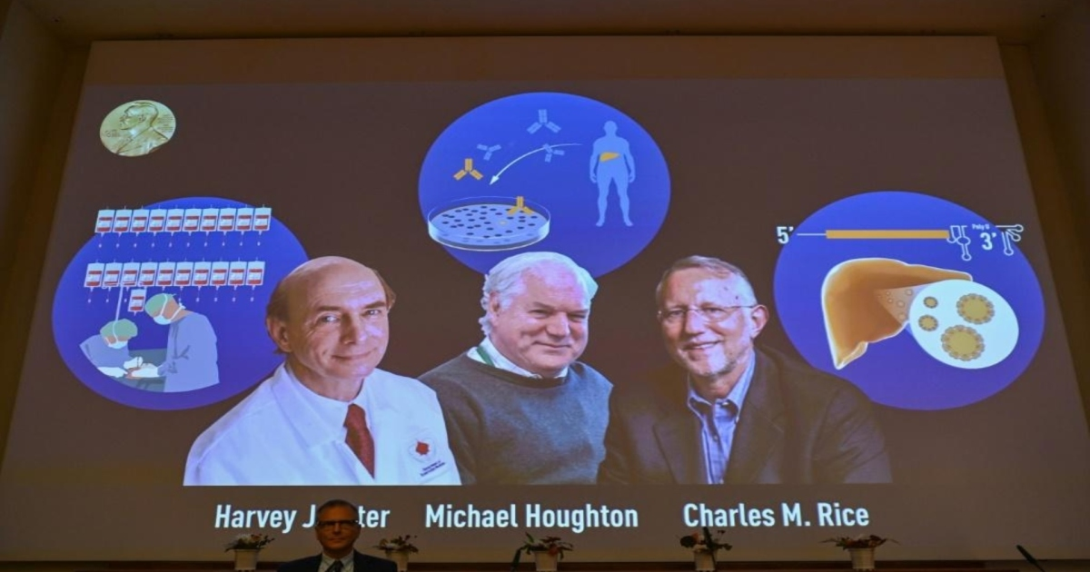 Hepatitis C virus-hunting scientists win Nobel Prize for medicine thumbnail