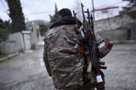 Nagorno-Karabakh conflict: Shelling, suffering and propaganda