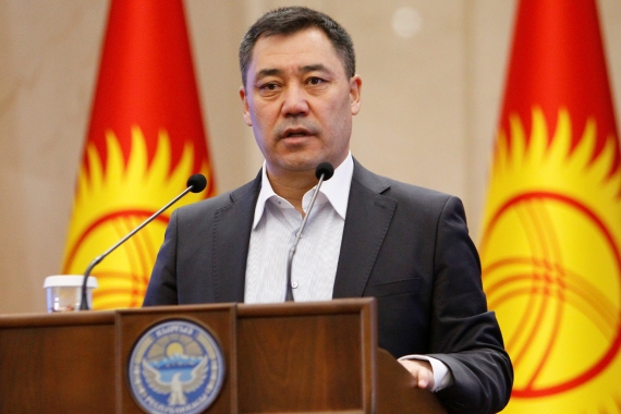 Sadyr Japarov: Kyrgyzstan needs to change 'political culture'