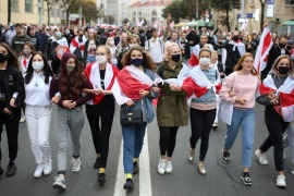 Women of Belarus: A fearless cry for change