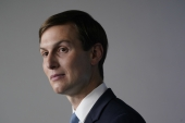 Jared Kushner, senior White House adviser, drew criticism on Monday after he said that United States President Donald Trump's policies regarding the Black community 'can help people break out of the problems that they're complaining about', but that Trump 'can't want them to be successful more than they want to be successful' [File: Chris Kleponis/Bloomberg]