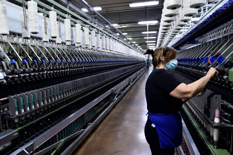 Automation and a new division of labour between humans and machines will disrupt 85 million jobs around the world, but more jobs are coming and both the public and private sector must take action to prepare, a new World Economic Forum report has found [File: Flavio Lo Scalzo/Reuters]