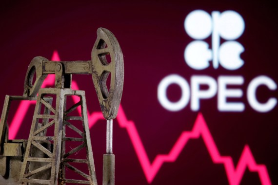 OPEC+ is now reducing production by 7.7 million barrels per day (bpd), down from cuts totalling 9.7 million bpd enforced from May 1 to August 1 [File: Dado Ruvic/Reuters]