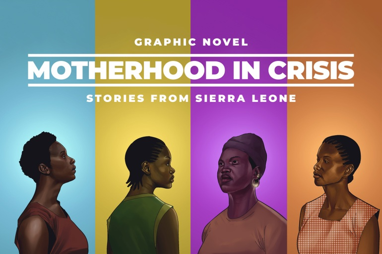 Graphic Novel: Motherhood in crisis