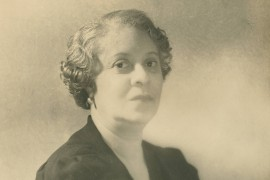 A portrait of Florence Price later in life [Special Collections, University of Arkansas Libraries]
