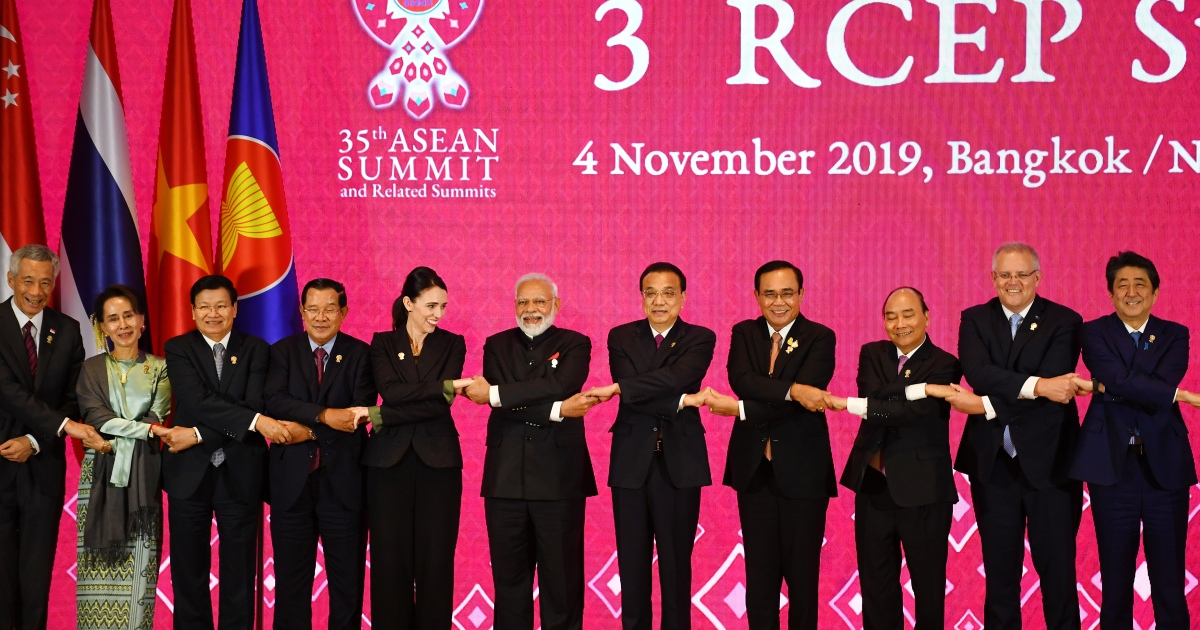 RCEP: Asia-Pacific nations sign world's biggest trade pact – Al Jazeera English