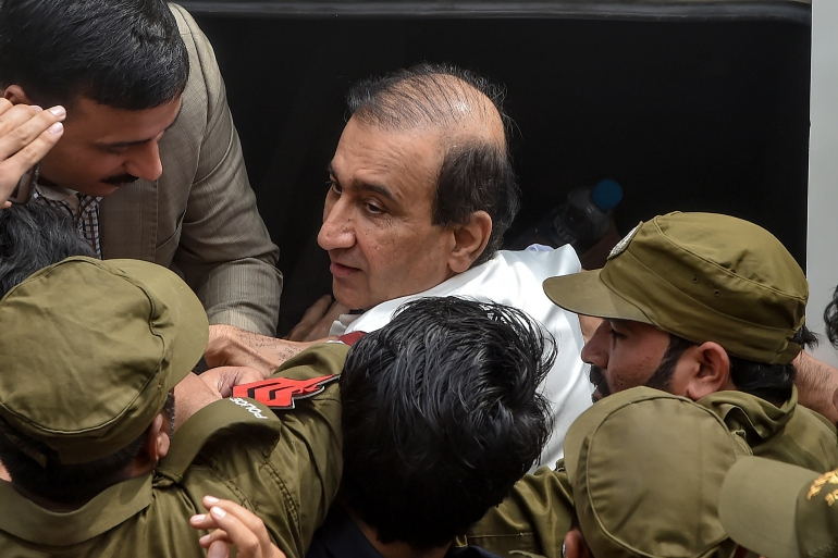 Last week, Reporters Without Borders (RSF) called on Pakistan's supreme court to order Rehman's release, saying he was being held on a 'spurious charge' [Arif Ali/AFP]