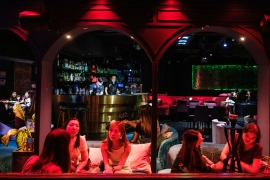 Bars in Hong Kong will be forced to close for a third time in Hong Kong because of COVID-19 [File: Anthony Wallace/AFP]