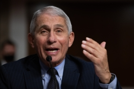 Fauci said he was worried about anti-vaccine sentiment in the US, the country worst hit by the pandemic [File: Reuters]