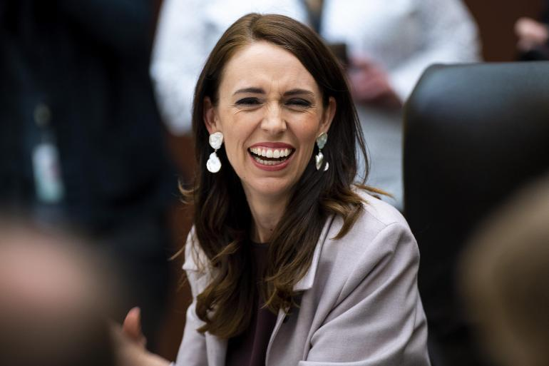 New Zealand Prime Minister Jacinda Ardern was sworn in for a second term on Friday [Dave Lintott/AFP]