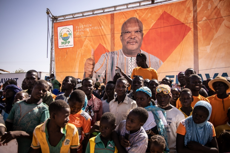 How has Burkina Faso changed since the 'insurrection'?