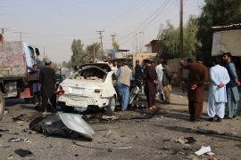 Violence and chaos have increased in the country in recent months despite negotiations between the government and the Taliban [Noor Mohammad/AFP]