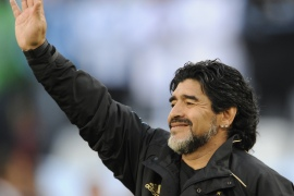 Maradona's death prompted an outpouring of grief around the world [File: Javier Soriano/AFP]