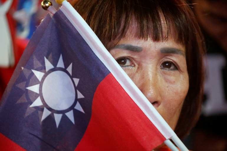 The KMT is struggling to win support among people under 40 as attitudes shift [Ann Wang/Reuters]