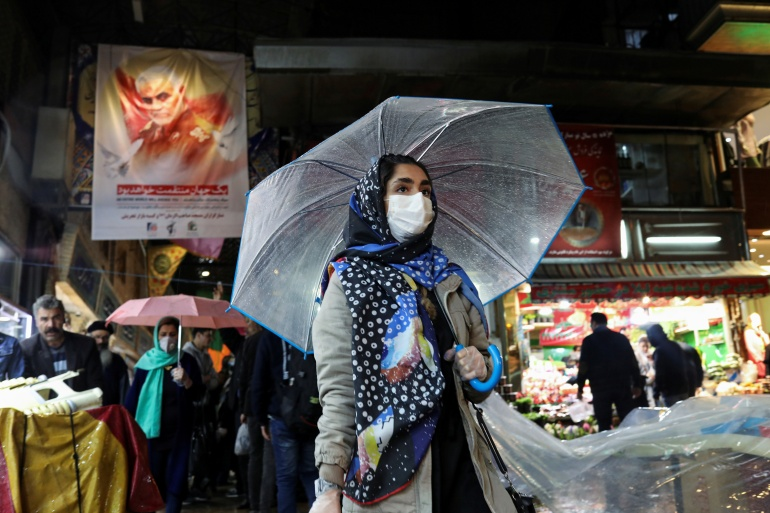 A new subsidy is set to give 60 million of Iran's roughly 85-million strong population a much-needed cash injection of up to $5 a month to help pay for essential goods [File: WANA Ali Khara via Reuters]