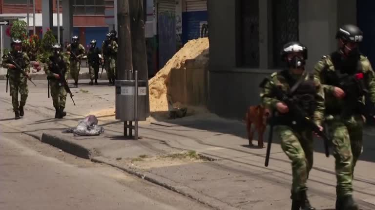 Inmates killed in Colombia riot shot intentionally: HRW