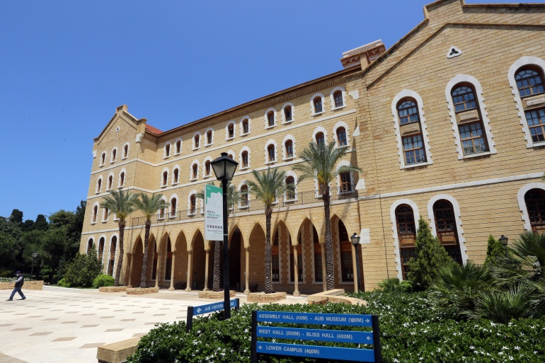 AUB will adopt an exchange rate of 3,900 Lebanese pounds to the US dollar [File: Aziz Taher/Reuters]