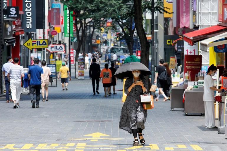 South Korea confirms most COVID-19 cases since March | South Korea