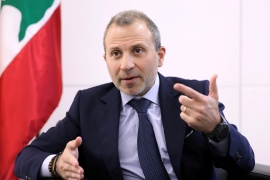 Gebran Bassil, son-in-law of Lebanon's president and head of the Christian-led FPM, is also a former foreign minister [File: Reuters]