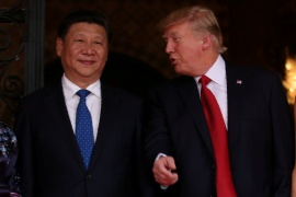 United States President Donald Trump is attempting to cement his tough-on-China stance in the waning days of his administration, even as he faces staunch criticism for his actions at home [File: Carlos Barria/Reuters]